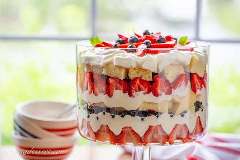 Mixed Berry Trifle Recipe