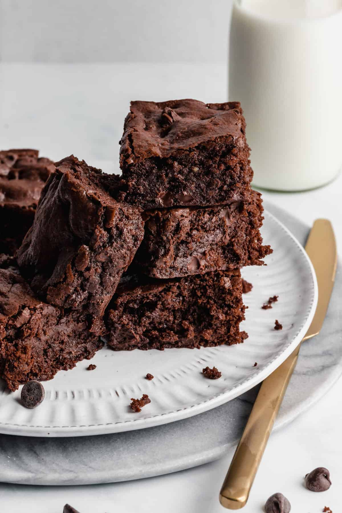 Vegan Brownies (Chewy and Fudgy)