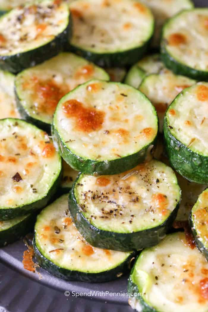 Easy Baked Zucchini