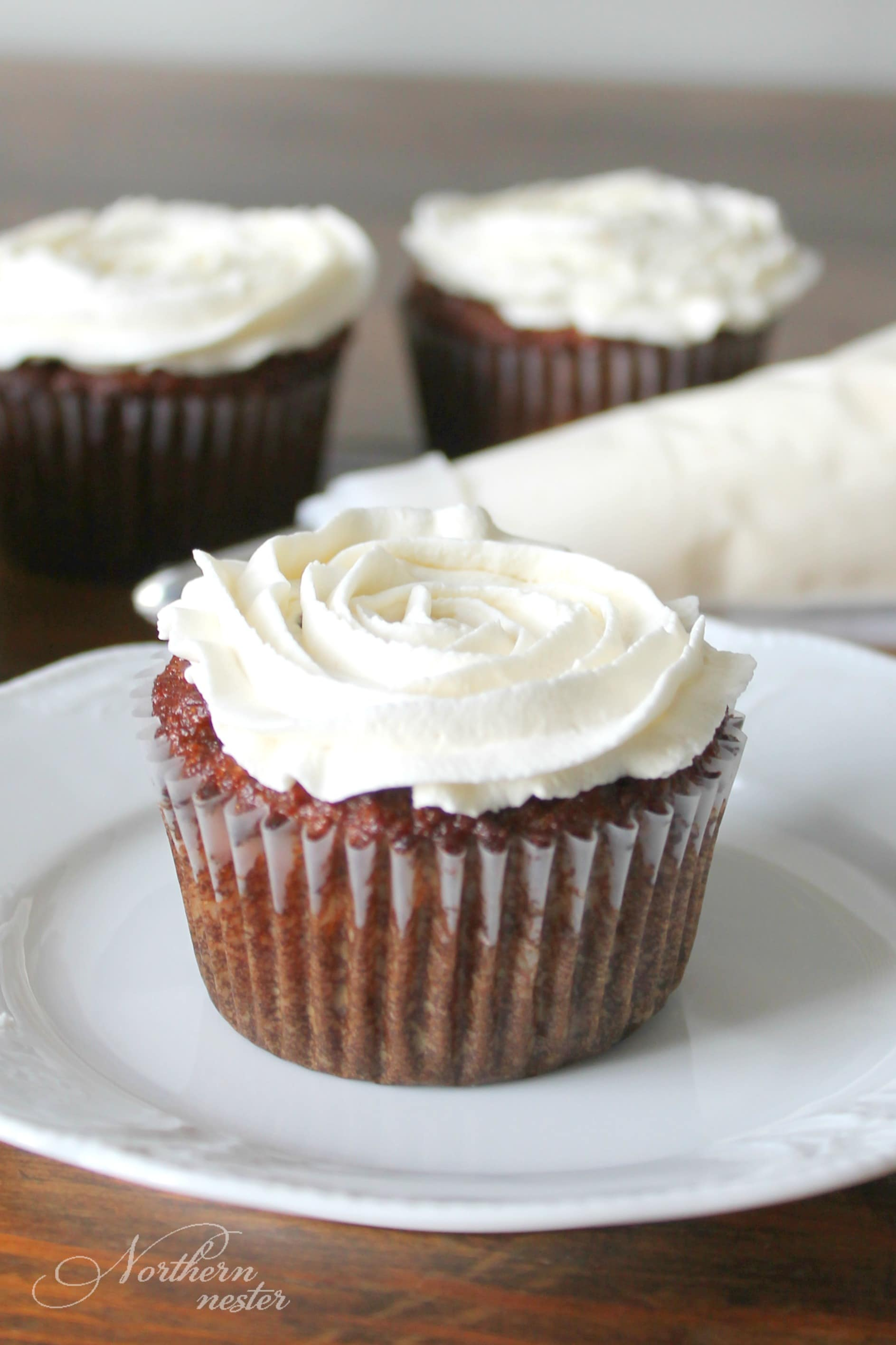 Pumpkin Muffins With Maple Frosting | THM: S