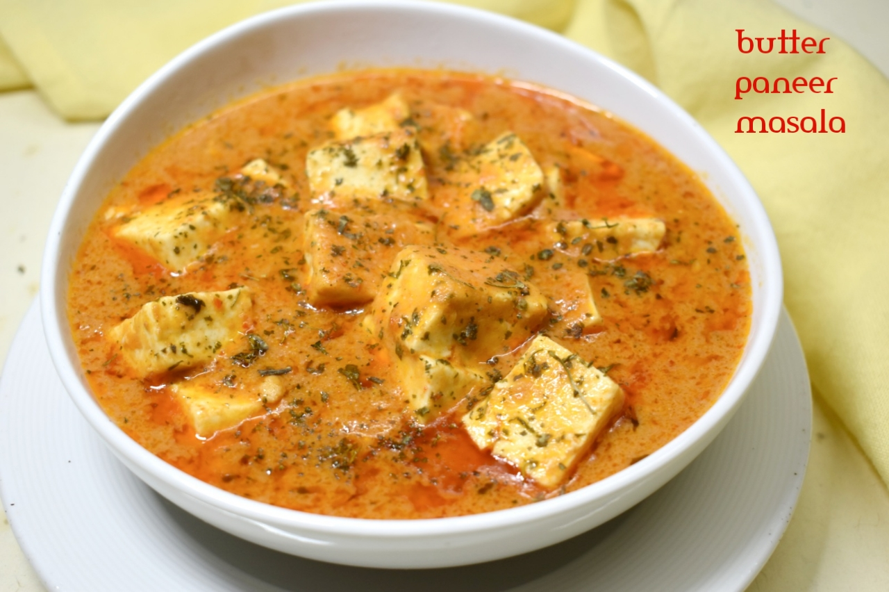 Butter Paneer Masala Recipe | How to Make Paneer Butter Masala