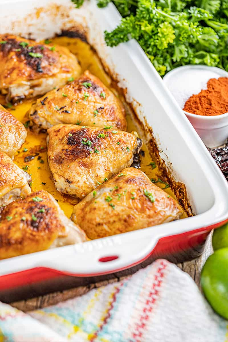 Chipotle and Lime Chicken Thighs