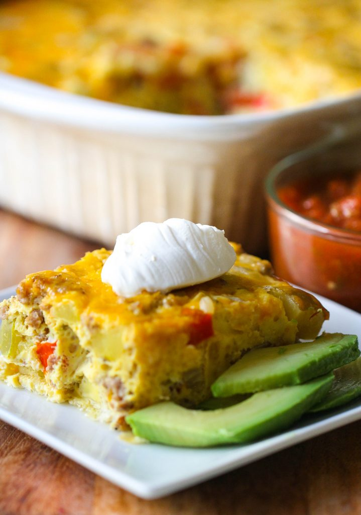 Hashbrown and Egg Breakfast Casserole