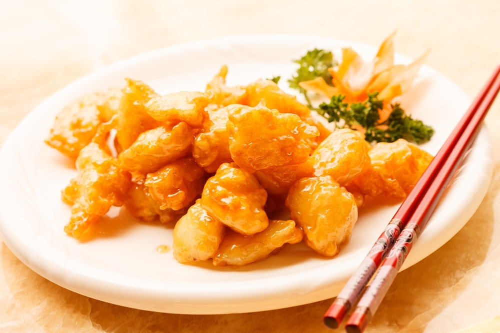 Keto Sweet And Sour Chicken (Low Carb)
